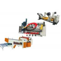 Buy cheap 2 Layer Single Facer Corrugated Cardboard Production Line For Making Corrugated Sheet from wholesalers