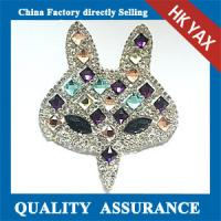 Buy cheap D0930 YAX factory Wholesale sew on rhinestone patch on the garment from wholesalers