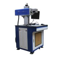 Buy cheap FDA Glass Laser Engraving Machine  Lot Number On Plastic Nameplate from wholesalers