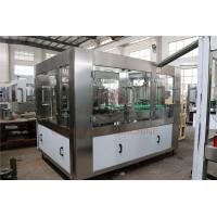 Buy cheap Custom Stainless Steel Bottle Filling Equipment , Beer Can Filling Machine from wholesalers
