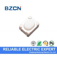 Buy cheap White Micro Switch Button 3.2X4.2 Mm Soldering U Type RoHS Reach Tactile Switch from wholesalers