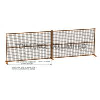 China Temporary Fence Construction Panels for Sale 6ft x 9ft ,6ft x 10ft square tube 1 inch 25mm on sale