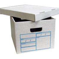 Buy cheap Good quality, fatastic and popular kraft corrugated file box from wholesalers