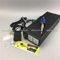 Buy cheap High Speed Black Ce 30K Ultrasonic Fabric Cutting Machine With Low Noise from wholesalers