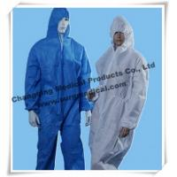 Buy cheap Anti - Static Disposable Surgical Gowns Industry Chemical Resistant Coveralls from wholesalers