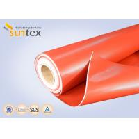 Buy cheap Heat Resistant Cloth Silicone Coated Fiberglass Fabric For Insulation Jackets, Mattress, And Pads from wholesalers