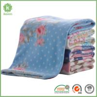 Buy cheap Thin High Quality 180gsm Polar Fleece Blankets with Fashion Printing from wholesalers