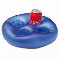 Buy cheap Advertising Inflatable with Four-can Holder, Ideal for Promotional Purposes product