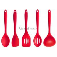 Buy cheap Silicone Kitchen Utensil Set in Hygienic Solid Coating from wholesalers