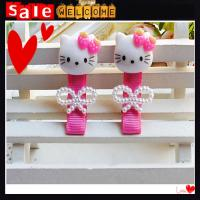 Buy cheap Cute Baby Girl Accesorios Factory Wholesale Pearl Bowknot Pink Hello Kitty Hair Clip from wholesalers
