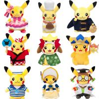 New Cartoon Characters Pokemon Stuffed Plush Toys 8inch Manufactures