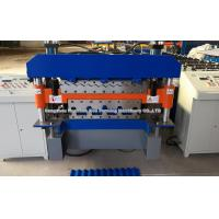 Buy cheap 925 mm galvanized metal roofing panel double deck roll forming machine from wholesalers