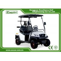 Buy cheap 48V Trojan Battery Electric Golf Carts 2 Seater White Club Car Electric Golf Car from wholesalers