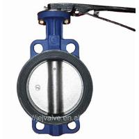 Buy cheap Ductile Iron Wafer Concentric DN100 Lug Butterfly Valve from wholesalers