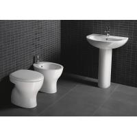 Buy cheap D4015 Single Hole bathroom vanity units stand Pedestal Wash hand washing basin from wholesalers