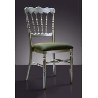 Buy cheap Banquet Black Metal Chiavari Chair from wholesalers