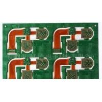 Buy cheap Multilayer rigid flex pcb manufacturers Impedance controlled 1.6mm pcb board from wholesalers