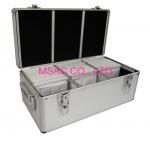 Buy cheap 300 / 500 Aluminium CD Storage Case , Aluminum CD Storage Box Easy For Transport. from wholesalers