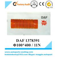 Buy cheap DAF Red-Black Silicone Rubber Hose 1378391 /Φ100*400 / 11N   4Layer from wholesalers