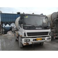 China Used Concrete Mixers ISUZU 8cbm Second Hand Cement Mixer on sale
