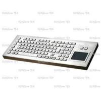 Buy cheap Left /right click button Industrial Keyboard with Touchpad for Public access applications from wholesalers