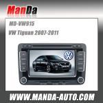 Buy cheap 2 DIN Car DVD radio player for VW Volkswagen Tuguan polo jetta golf5 golf6 passat touran tiguan GPS navigation sat nav from wholesalers