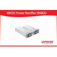 Buy cheap High Power Efficiency 92% SR -4820 Power Supply 48vdc 80-300vac Input Voltage from wholesalers
