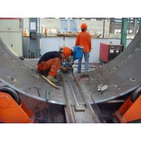 Automaic Welding System Wind Tower Production Line Equipment 80 Tons Fit - Up Roller Manufactures