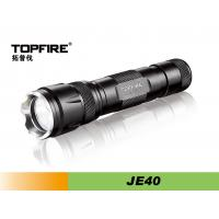 Rechargeable LED Flashlight With Cree-XML-T6 Light And 500lm Luminous flux- JE40