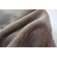 Buy cheap Polyester 3mm Pile Micro Velboa Fabric from wholesalers