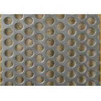 Buy cheap Standard 2B Finish Honeycomb Perforated Stainless Steel Sheets With 1524mm Width from wholesalers
