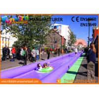 Buy cheap Commercial 1000 FT Outdoor Inflatable Slip N Slide For Advertisement product