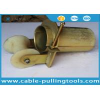 Bell Mouth Cable Roller for Pulling 100mm Cable With Nylon Wheel Manufactures