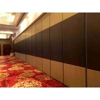 Buy cheap Vinyl Finish Movable Partition Wall Heavy Duty  Polyester Powder Coating from wholesalers