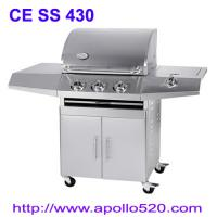 China BBQ Barbecue Gas 3 Burner Stainless on sale