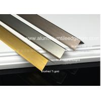 Buy cheap Durable Brushed Aluminum Corner Guards Equal Angle Extrusion Profile from wholesalers
