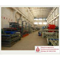 Buy cheap Automatic Eps Sandwich Panel Mgo Board Production Line for Cement / Mgo / Wood Saw Powder from wholesalers