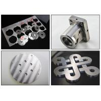 China Precision Machining Stainless Steel Components , Laser Cutting Steel Service For Hardware on sale