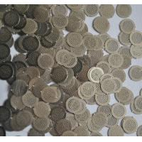 Buy cheap Micron Hole Size stainless steel filter disc , wire filter mesh diameter 5mm from wholesalers