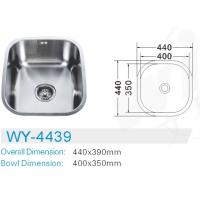 Wholesale best price undermount kitchen sinks #FREGADEROS DE ACERO INOXIDABLE #hardware #building material #sanitary ware #sink from china suppliers