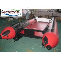 Buy cheap Portable Fishing Inflatable Catamaran Boat 2 Small Tubes Light Weight Fishing Rod Holders from wholesalers