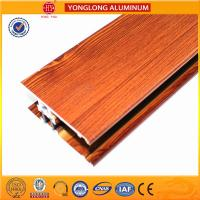 Buy cheap Insulation Wood Finish Aluminium Profiles For Medical Equipment OEM from wholesalers