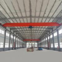 Buy cheap Lightweight 10Ton Overhead Bridge Crane For Lifting Rebar from wholesalers