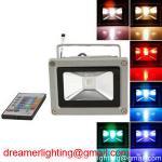 Colorful 10w RGB LED Flood Light Landscape Lamp