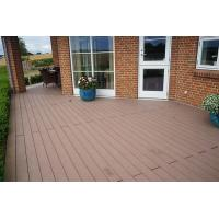 Buy cheap Wooden WPC Deck Flooring Tiles For Modern House Design FSC Certificate product