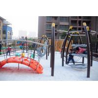Wholesale Large Kids Cool Outdoor Play Equipment Climber Arch LLDPE Plastic Bridge from china suppliers
