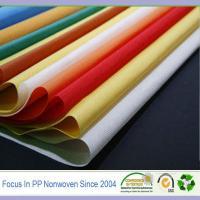 Buy cheap 100% polypropylene raw materials non-woven spunbond fabrics product