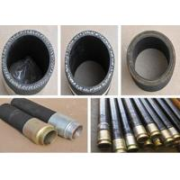 Buy cheap ISO Certification Black Concrete Placement Hose / 6 Inch Pump Rubber Hose from wholesalers
