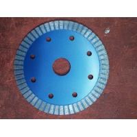 Buy cheap 6 Inch 9 Inch Diamond Turbo Blade For Granite 125mm Hot Pressed Silver Blue from wholesalers
