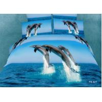 Buy cheap 100% Cotton Bedding Set With Reactive Printing from wholesalers